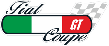 Fiat coupe flag
